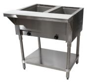 Advance Tabco SW-2E 120/240 2 Sealed Well ElectricHot Food Table