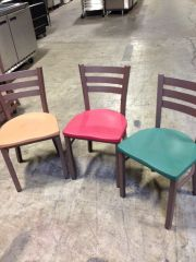 Brown Metal Frame Chairs