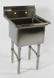 KTI  ECS-1-1818  1 Compartment Sink (No Drainboard)