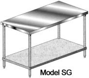 KTI SG-30x48 Work Table