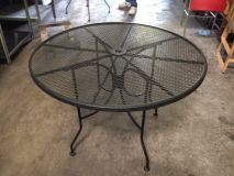 enlarge outdoor wrought iron tables used outdoor wrought iron tables