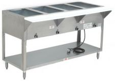 Advance Tabco SW-5E-240   5 Sealed Well Electric Hot Food Table
