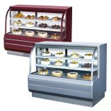 Turbo Air TCGB-60-CO  Curved Glass Bakery Case (Dual Zone)