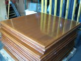 "42"" Square Solid Wood Table Tops"