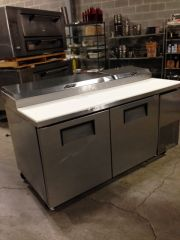 True 67 Pizza Prep Table Cold Side Used All The Best