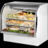 True TCGG-48-LD Curved Glass Front Refrigerated Deli Case