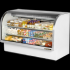 True TCGG-72-LD  Curved Glass Front Refrigerated Deli Case