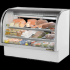 True TCGG-60-LD Curved Glass Front Refrigerated Deli Case