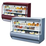 Turbo Air TCDD-72-2-H Curved Glass Front Refrigerated Deli Case
