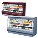 Turbo Air TCDD-96-4-H Curved Glass Front Refrigerated Deli Case