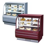 Turbo Air TCGB-48-DR  Curved Glass Bakery Case (Dry)