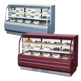 Turbo Air TCGB-72-2 Curved Glass Bakery Case