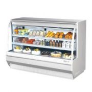 Turbo Air TCDD-72H-W(B)-N Curved Glass Front Refrigerated Deli Case