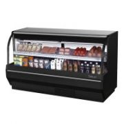 Turbo Air TCDD-72L-W(B)-N Curved Glass Front Refrigerated Deli Case