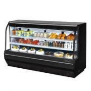 Turbo Air TCDD-96H-W(B)-N Curved Glass Front Refrigerated Deli Case