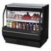 Turbo Air TCDD-48L-W(B)-N Curved Gass Front Refrigerated Deli Case