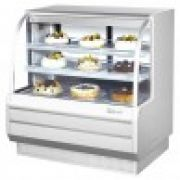 Turbo Air TCGB-48DR-W(B)-N  Curved Glass Bakery Case (Dry)