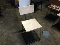 Wood Seat & Back Chairs